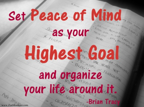 make peace of mind a priority