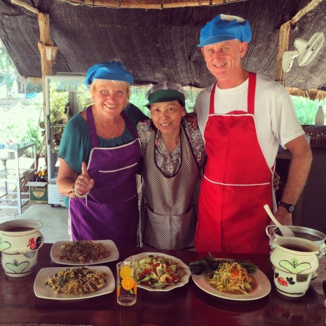 Authentic Thai cooking classes with the incredible staff of Treetop