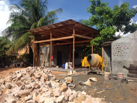 building a geodome earthship in cambodia Let us create zen monkees