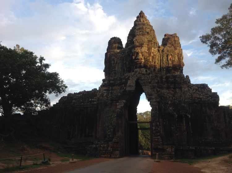Angkor Wat Cambodia Zen Monkees